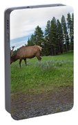 Elk Feeding Portable Battery Charger