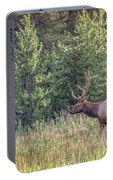 Elk In The Forest Portable Battery Charger