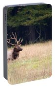 Elk Sitting Down Portable Battery Charger
