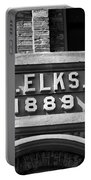 Elks Building 1889 Portable Battery Charger
