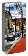Ellicott City Sidewalk Portable Battery Charger