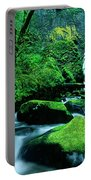 Elowah Falls 3 Columbia River Gorge National Scenic Area Oregon Portable Battery Charger