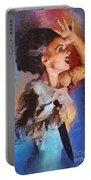 Elsa Lanchester, Bride Of Frankenstein Portable Battery Charger