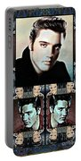 Elvis Presley Montage Portable Battery Charger