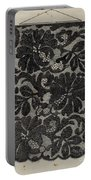 Embroidered Lace Portable Battery Charger