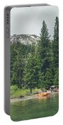 Emerald Bay Portable Battery Charger by Margaret Pitcher
