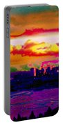 Emerald City Sunset Portable Battery Charger