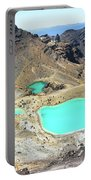 Emerald Lakes, New Zealand. Portable Battery Charger