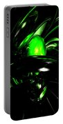 Emerald Nigthmares Abstract Portable Battery Charger
