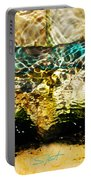 Emerald Ripples Portable Battery Charger