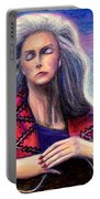 Emmylou Harris Portable Battery Charger