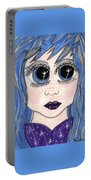 Emo Girl I Portable Battery Charger