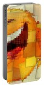 Emoticon Mosaic Cubism Portable Battery Charger