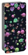Emoticon Plastic Faces Portable Battery Charger