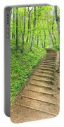 Empire Bluffs Trail Steps In Michigan Portable Battery Charger