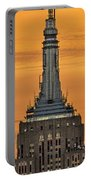 Empire State Building Esb Broadcasting Nyc Portable Battery Charger