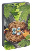 Empty Nest Portable Battery Charger