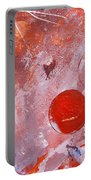 Encased In Red Portable Battery Charger
