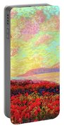 Enchanted By Poppies Portable Battery Charger