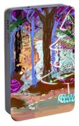 Enchanted Christmas Forest Portable Battery Charger