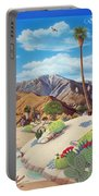 Enchanted Desert Portable Battery Charger