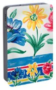 Enchanted Florals Portable Battery Charger