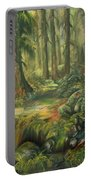 Enchanted Rain Forest Portable Battery Charger