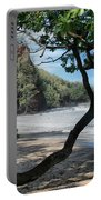 Enchanted Rocks Koki Beach Haneoo Hana Maui Hawaii Portable Battery Charger