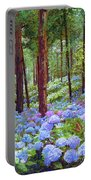 Endless Summer Blue Hydrangeas Portable Battery Charger