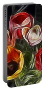 Energetic Tulips Portable Battery Charger