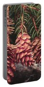 Engelmann Spruce Cones Portable Battery Charger