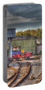 Engine Sheds Quainton Road Buckinghamshire Railway Portable Battery Charger