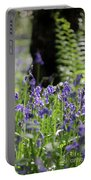 English Bluebell Wood Portable Battery Charger