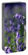 English Bluebells In Bloom Portable Battery Charger