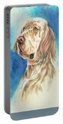 English Setter Portable Battery Charger