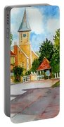English Village Street Portable Battery Charger