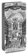 Engraving Of Pharmacy, Geiger, 1651 Portable Battery Charger