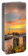 Enkhuizen Sunset Portable Battery Charger