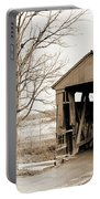 Enochsburg Indiana Covered Bridge Portable Battery Charger