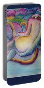 Entangled Figure With Rocks Portable Battery Charger