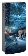 Entering The Ice Cave Portable Battery Charger