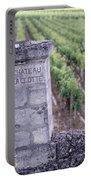 Entrance Of A Vineyard, Chateau La Portable Battery Charger