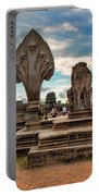 Entrance To Angkor Wat  Portable Battery Charger