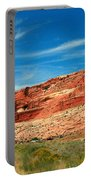 Entrance To Arches National Park Portable Battery Charger