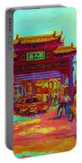 Entrance To Chinatown Portable Battery Charger
