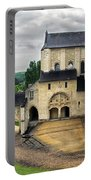 Entrance To Fontevraud Abbey Portable Battery Charger