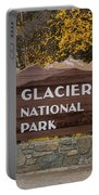 Entrance To Glacier Portable Battery Charger