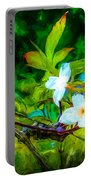 Entwined Chiaroscuro Portable Battery Charger