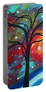 Envision The Beauty By Madart Portable Battery Charger by Megan Duncanson
