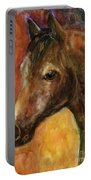 Equine Horse Painting  Portable Battery Charger